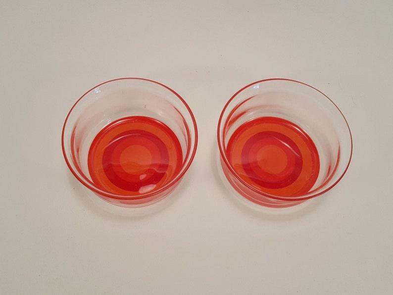 V326 Catarina \u00c5selius-Lidbeck 1967 Mitt i prick Gullaskruf dessert bowls