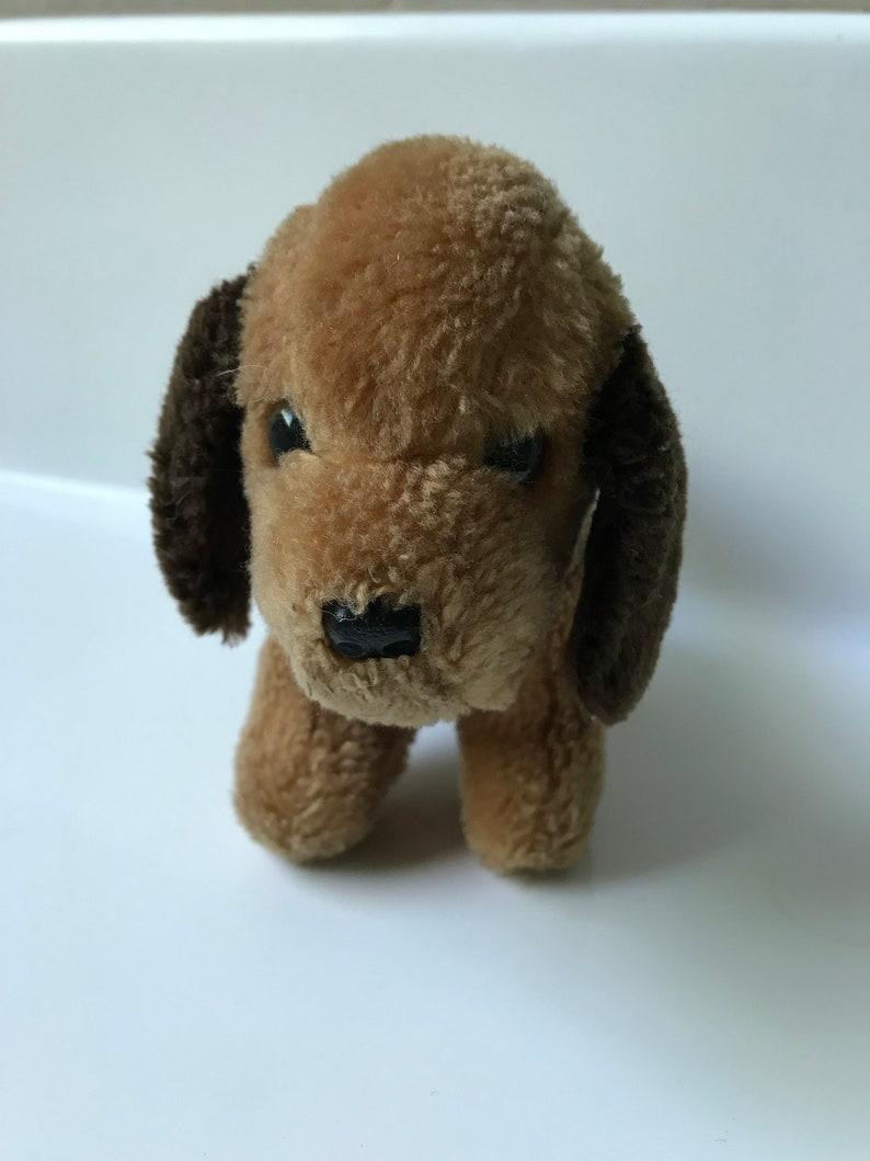 ffa7f522b99c Vintage 1980 GUND Small Brown Puppy Dog Plush Toy | Etsy
