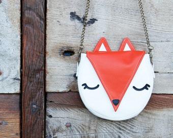 Fox shoulder bag - small size