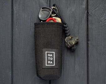 Key chain holder – EDC pocket key holder from Cordura. Your keys won't ring and won't get lost!