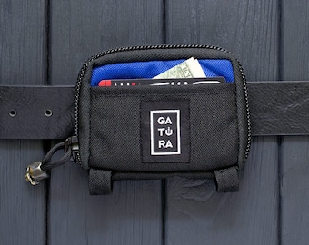EDC belt pouch – Small tool pouch belt from Cordura. For keys, knifes, flashlights. 81 combination of colors for this belt pouch bag!