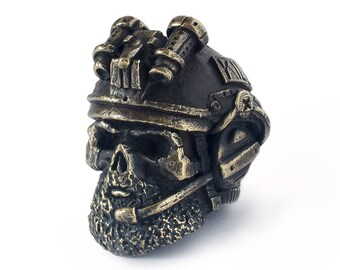 US army soldier beads - US army rangers lanyard beads. Big, heavy usa skull beads are handmade with unique designs!