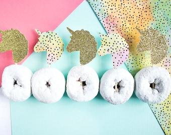 Unicorn Cupcake Toppers, Unicorn Party, Unicorn Baby Shower, Rainbow Party, Unicorn Decor, Unicorn Cupcake, Unicorn 1st Birthday, Unicorn