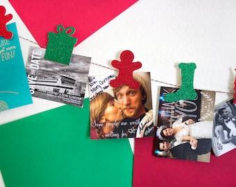 Christmas Card Holder, Christmas Garland, Christmas Card, Christmas Banner, Holiday Card, Mail Holder, Christmas Decoration, Merry Mail