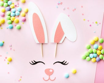 Some Bunny is One, Easter Cake Topper, Bunny Cake Topper, Bunny Ears, Bunny Ears Cake Topper, Easter Cake, Bunny Cake, Bunny Ear, Easter