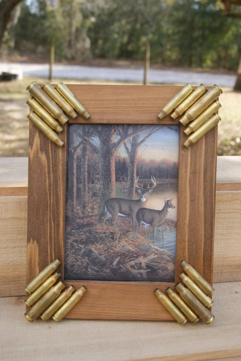 Handmade Bullet Picture frame