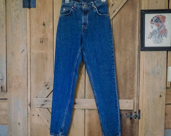 Vintage Levi jeans, Orange tab slim leg W30