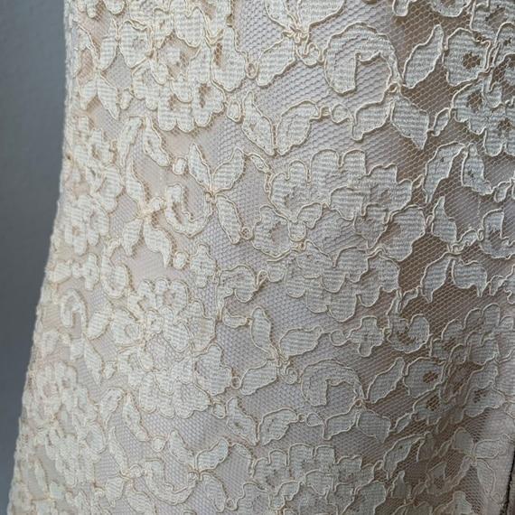Vintage 1960s mod mini wedding dress - image 6