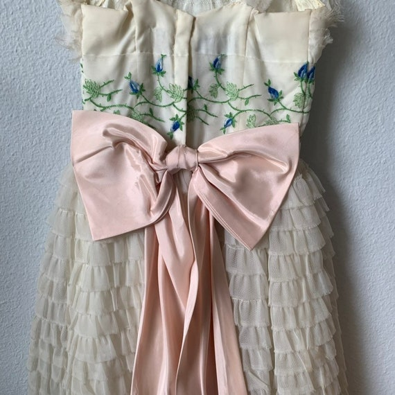 Vintage 1950s bridesmaid/prom dress - image 4