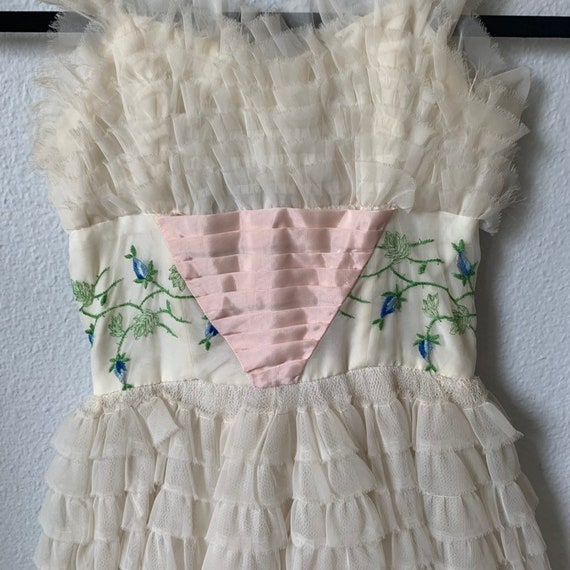 Vintage 1950s bridesmaid/prom dress - image 3