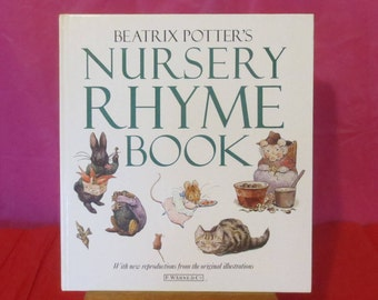 Vintage Beatrix Potter's Nursery Rhyme Book