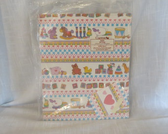 Vintage Current Baby Gift Wrapping Paper & Cards