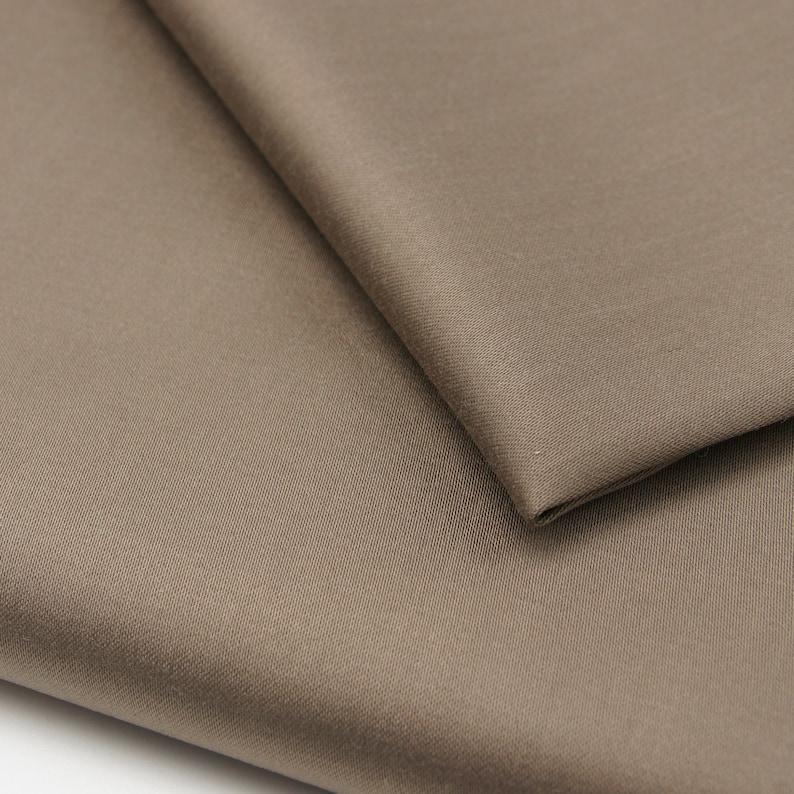 Tencel Sateen Stretch Woven Fabric Tencel Lyocell Cotton Stretch Sateen Woven Fabric By 0.5 Metre Stretch Sateen Cotton Stretch Sateen
