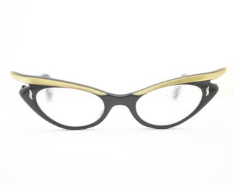 STUNNING 1950s Eyeglasses / A Paris brand / Made in FRANCE