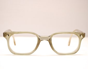 e6d0b2a933b Vintage 1950 s 60 s AMERICAN OPTICAL Grey Eyeglasses   Rare Frame Shape    Z87   Retro Collectable Rare  1846