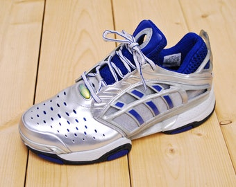 568be1ea0 Vintage 1990 s Deadstock ADIDAS Running Shoes NOS   Sample Prototype    Men s Size 9   Retro Collectible Rare