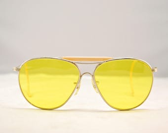 2388cf8f754 Vintage 1940 s 50 s AMERICAN OPTICAL Kalichrome Outdoorsman Aviator  Sunglasses   Model AN 6531   Fear and Loathing   Retro Collectable Rare