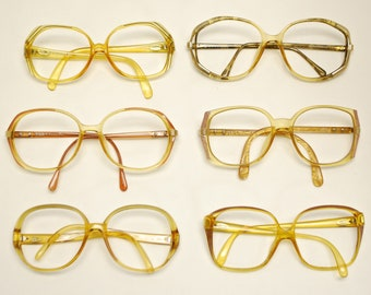 7a15e2bbb386 SET of 6 Pairs Vintage 1960 s   70 s CHRISTIAN DIOR Eyeglasses (lot 177)