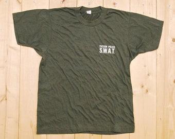 Rare Black Flag X Police Shirt