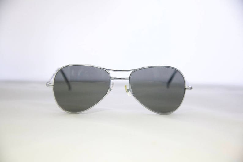 7559a004a1 Vintage 1950 s60 s Chrome Aviator Sunglasses   Pilots