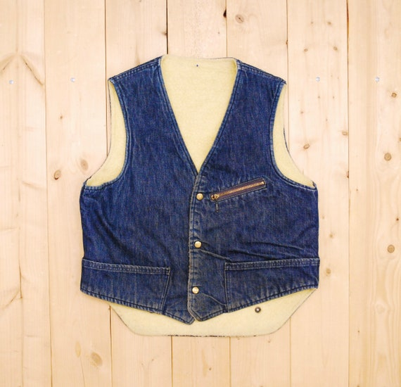 Vintage 1950's/60's CARTER'S Denim Jean Vest / She