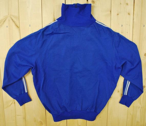 Veste de jogging ADIDAS bleu 1970 Vintage rétro collection Rare
