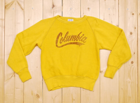 Vintage 1940's/50's COLUMBIA Sweatshirt / WINDSOR