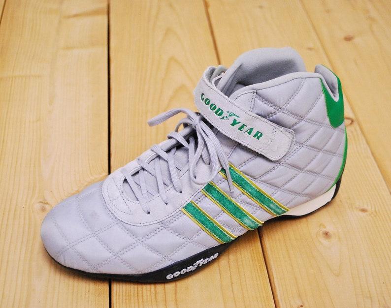 fdfe1ec5a397f Vintage 1990's Deadstock ADIDAS MONACO F1 Racing Shoe NOS / Sample  Prototype / Men's Size 9 / Retro Collectable Rare