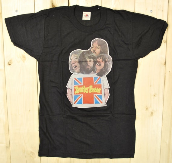 Vintage 1970's DEADSTOCK BEATLES T-Shirt / Beates