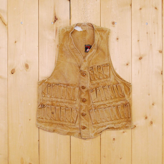 Vintage 1940's/50's RED HEAD BRAND Hunting Vest /