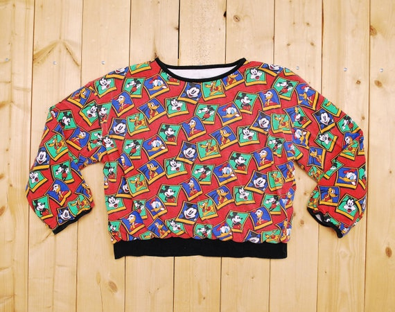 Vintage 1980's MICKEY MOUSE and FRIENDS Reversible