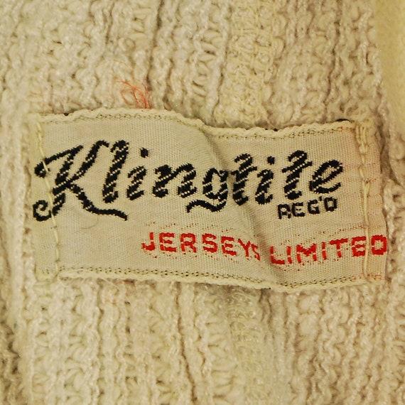 Années 1930 / 40 KLINGTITE Mauve Satin Swim Swim Satin Suit avec fermeture à glissière métallique changement poche / From Here to Eternity / rétro collection Rare 5f1baa