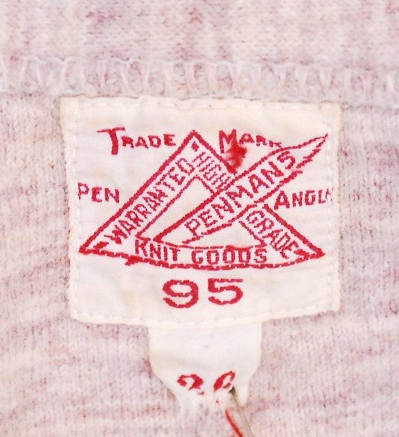 Vintage 1940's/50's PENMAN'S Henley T-Shirt / Ret… - image 5