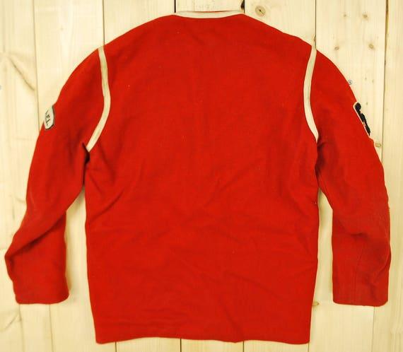 Vintage 196566 Radway Basketball Club VARSITY LETTERMAN Jacket School College Retro Collectable Rare