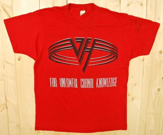 Vintage 1991 VAN HALEN For Unlawful Knowledge Tour