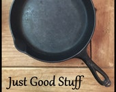 RARE Griswold 8 Cast Iron Skillet Cookware Kitchen Made in the U.S.A Eric P.A, 704 S