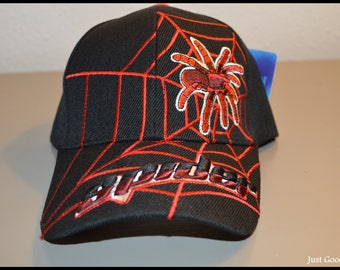Kids Spider Man Ball Cap