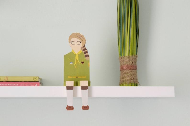 Moonrise kingdom legno figurine wes anderson popolare etsy