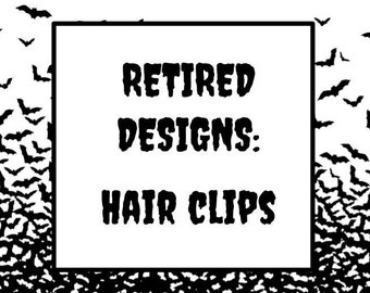 Retired Hair Clips