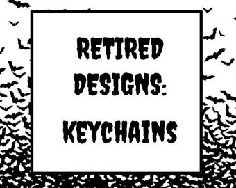 Retired Keychains