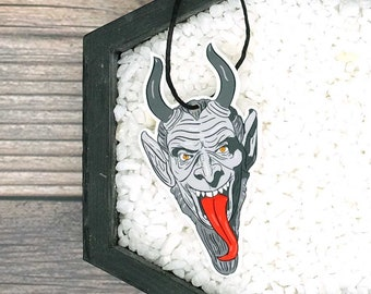 Krampus Ornament Horror Ornament Christmas Halloween Gothic Goth Creepy Odd Ornament