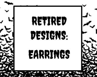 Retired Earrings
