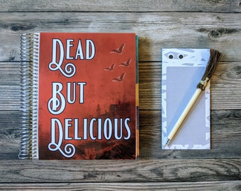 Dead But Delicious What We Do In The Shadows Inspired Erin Condren The Happy Planner Cover Goth Halloween Horror