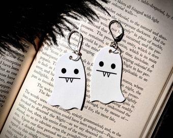 Vampire Ghost Earrings Goth Gothic Scary Odd Creepy Halloween Horror Earrings Fun Gift