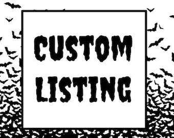 Custom Listing - Wholesale bookmark order
