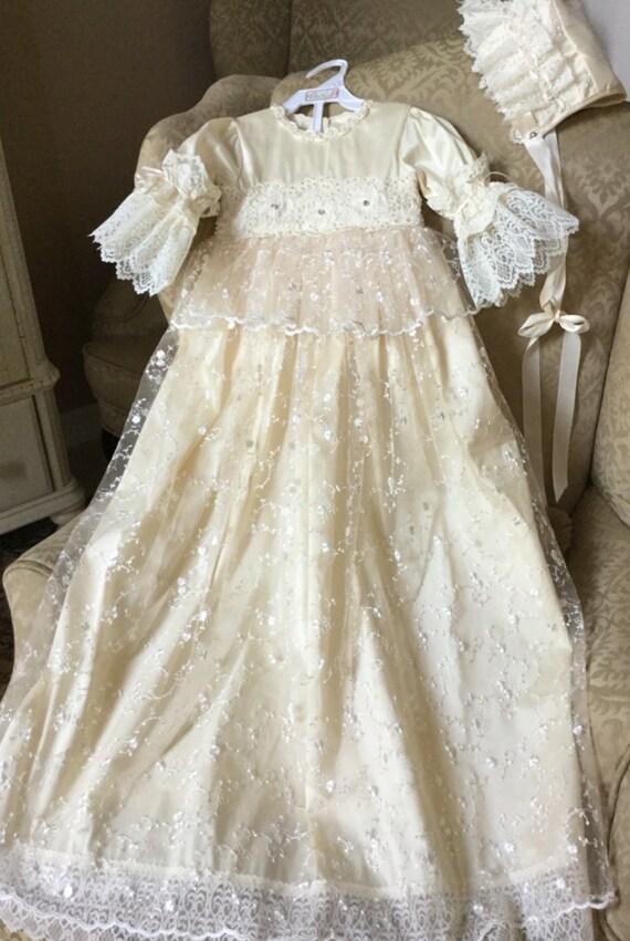 Handmade Baptism Dress