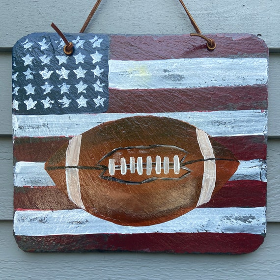 Sports decor, Boyfriend gift, Football lover, Christmas gift for guy, Football sign, Mancave decor, Bar decor, Sports fan gift, Football