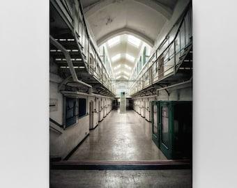 Kingston Prison Wall Art - Prison Art, Prison Canvas, Portsmouth Canvas, Photography Art, Portsmouth Wall Art, Southsea Canvas