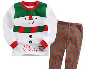 6773a55b69b8 Candy cane pajamas