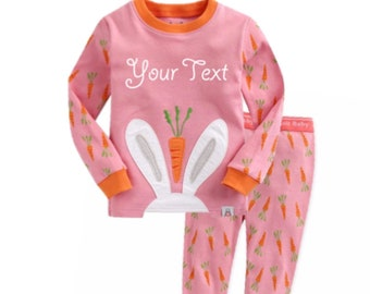 88ed5e13b Kids easter pajamas
